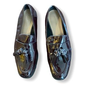EUC Zara Patent Leather Shoes with Tassels